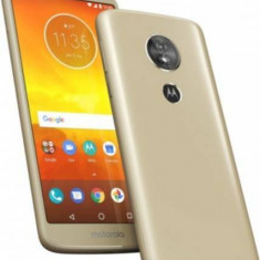 Telefon mobil Motorola Moto E5 16GB Dual Sim 4G Gold, Neblocat