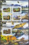 Cumpara ieftin DB1 Sao Tome Fauna Americana Insecte Fluturi MS + SS MNH, Nestampilat