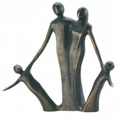 "Statueta bronz ""Familie"""