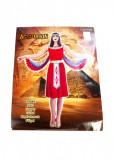 Costum de printesa egipteanca, L/XL, rosu