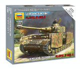 1:100 PANZER IV AUSF.H - snap-fit 1:100