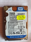 Hard laptop sata- WESTERN DIGITAL - de 250 Gb, 200-299 GB