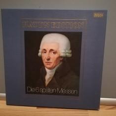 Haydn – 6 Missa (The 6 Missa Late) – 6LP Box Set (1970/DECCA/RFG) - Vinil/NM+, decca classics