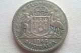 MONEDA 1 FLORIN 1946-AUSTRALIA (ARGINT)