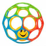 Jucarie de impins din silicon cu minge, 61 cm, multicolor