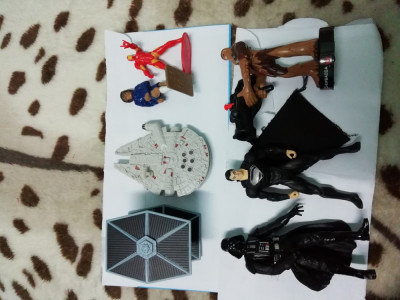 Figurine plastic colectie foto