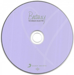 CD Britney Spears – The Singles Collection , original, holograma