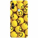 Husa silicon pentru Xiaomi Mi Max 3, Smiles 002