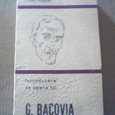 Dinu Flamand - INTRODUCERE IN OPERA LUI G. BACOVIA { 1979 }
