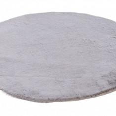 Covoraș rotund blana artificiala 80 cm
