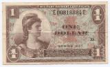 Statele Unite (SUA) 1 Dolar 1954 - US Army, Serie 521 (33) P-M33