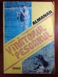 ALMANAH VANATORUL ȘI PESCARUL ROMAN 1992