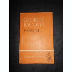 GEORGE BACOVIA - VERSURI