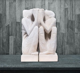 Set Statui Praying Couple, M