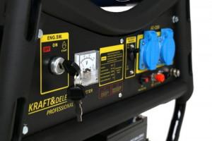 Generator electric pe benzina 3000W 12/230V KreaftDele KD143 TBC