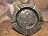 Vintage / Colectie - Veche scrumiera Expozitia internationala Liege anul 1930 !