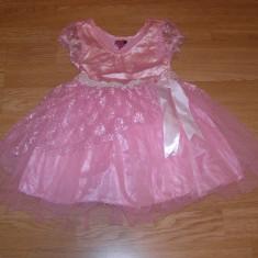costum carnaval serbare printesa rochie gala pentru copii de 3-4 ani