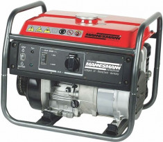 Generator Mannesmann curent benzina 4kv 4kw/5,4CP/12L, 4timpi .MADE IN GERMANY! foto