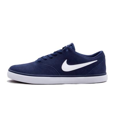 Shoes Nike SB Check Solarsoft Midnight Navy/White foto