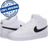 Pantofi sport Nike Court Vision Mid pentru barbati - adidasi originali - piele