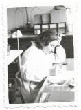 C457 4 poze studente Farmacie 1959 Bucuresti