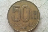 MONEDA 50 LEI 1992-ROMANIA