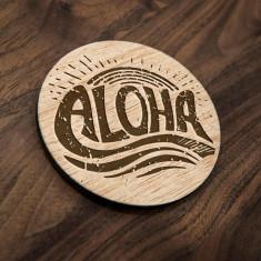 Set Suport Pahare Aloha (6 buc)