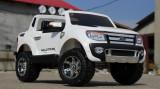 Masinuta electrica pentru 2 copii Ford Ranger F150, 2x 35W 12V #ALB