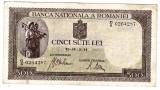 Bancnota 500 lei 2 IV 1941 aprilie filigran orizontal (3)