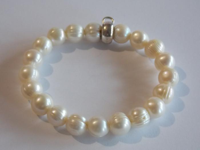 Bratara din argint cu perle Thomas Sabo-2183
