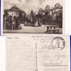 Slatina - Parcul, Circulata, Printata