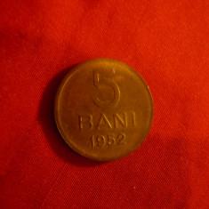 Moneda 5 bani 1952 RPR ,bronz , cal. necirculat