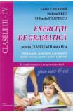 Exercitii de gramatica pentru clasele 3 -4 - Luiza Chiazna, Nelida Beju, Matematica