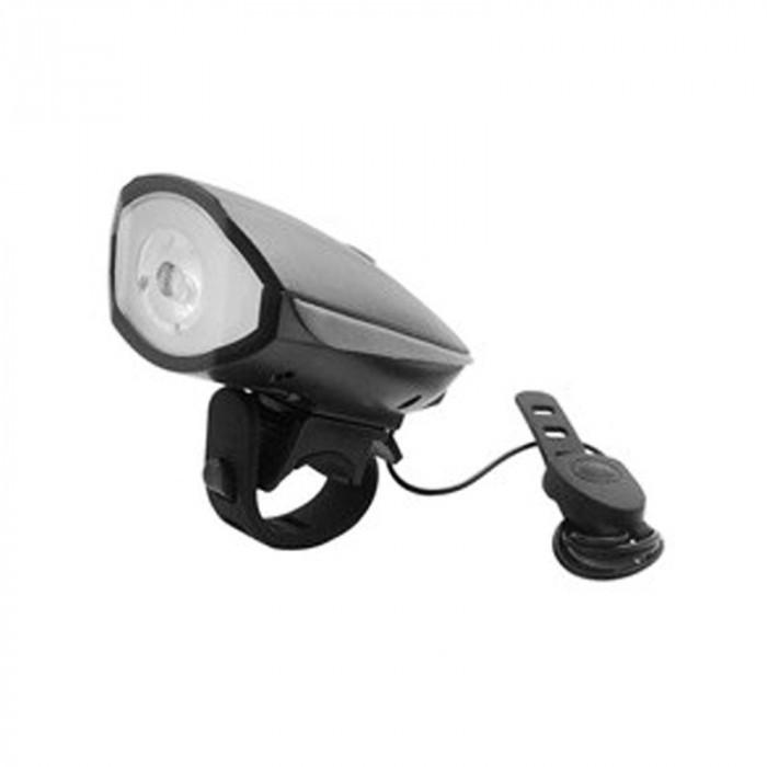 Far pentru bicicleta cu sonerie, LED, 1 W, 50 m