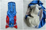 Costum ciclism FILA cu bazon Coolmax Sanitized; marime L; impecabil