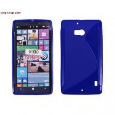 Husa Silicon S-Line Nokia Lumia 930 Albastru
