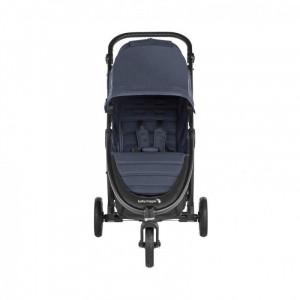 Carucior Baby Jogger City Mini GT2 Carbon, centura siguranta cu prindere in 5 puncte, negru