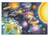 Puzzle - Spatiul cosmic (100 piese), Dodo