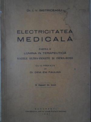 ELECTRICITATEA MEDICALA PARTEA II LUMINA IN TERAPEUTICA, RAZELE ULTRA-VIOLETE SI foto