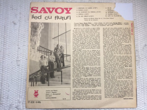 Savoy lied cu fluturi album disc vinyl lp muzica prog pop rock etno folk 1977