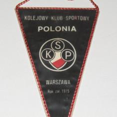 Fanion (vechi) fotbal - KSP POLONIA VARSOVIA (Polonia)