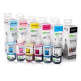 Cumpara ieftin Set 6 culori cerneala refill foto DYE pentru Epson seria L