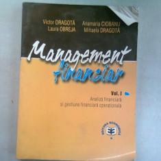 MANAGEMENT FINANCIAR - VICTOR DRAGOTA VOL.I
