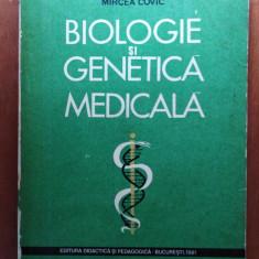 BIOLOGIE ȘI GENETICA MEDICALA - MIRCEA COVIC