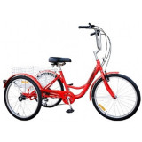 Tricicleta adulti Pegas Senior Triciclu, 24, 6, DHS
