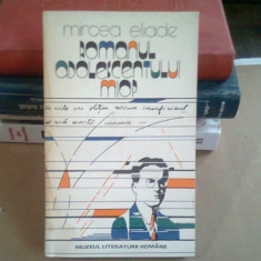 ROMANUL ADOLESCENTULUI MIOP , MIRCERA ELIADE , 1988