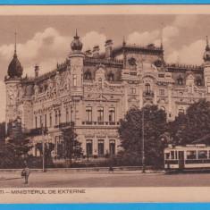 (31) CARTE POSTALA BUCURESTI - MINISTERUL DE EXTERNE - 1936
