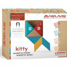 Set magnetic din lemn - 6 piese
