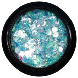 Paiete Holografice Unghii LUXORISE Disco Lights YJ08