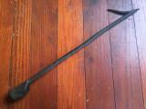 Scule si Unelte vechi - Carlig / Cange realizata manual la forja si nicovala !, Statuete